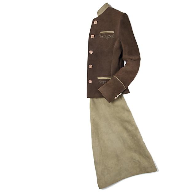 Damen Kostüm aus Hirschleder