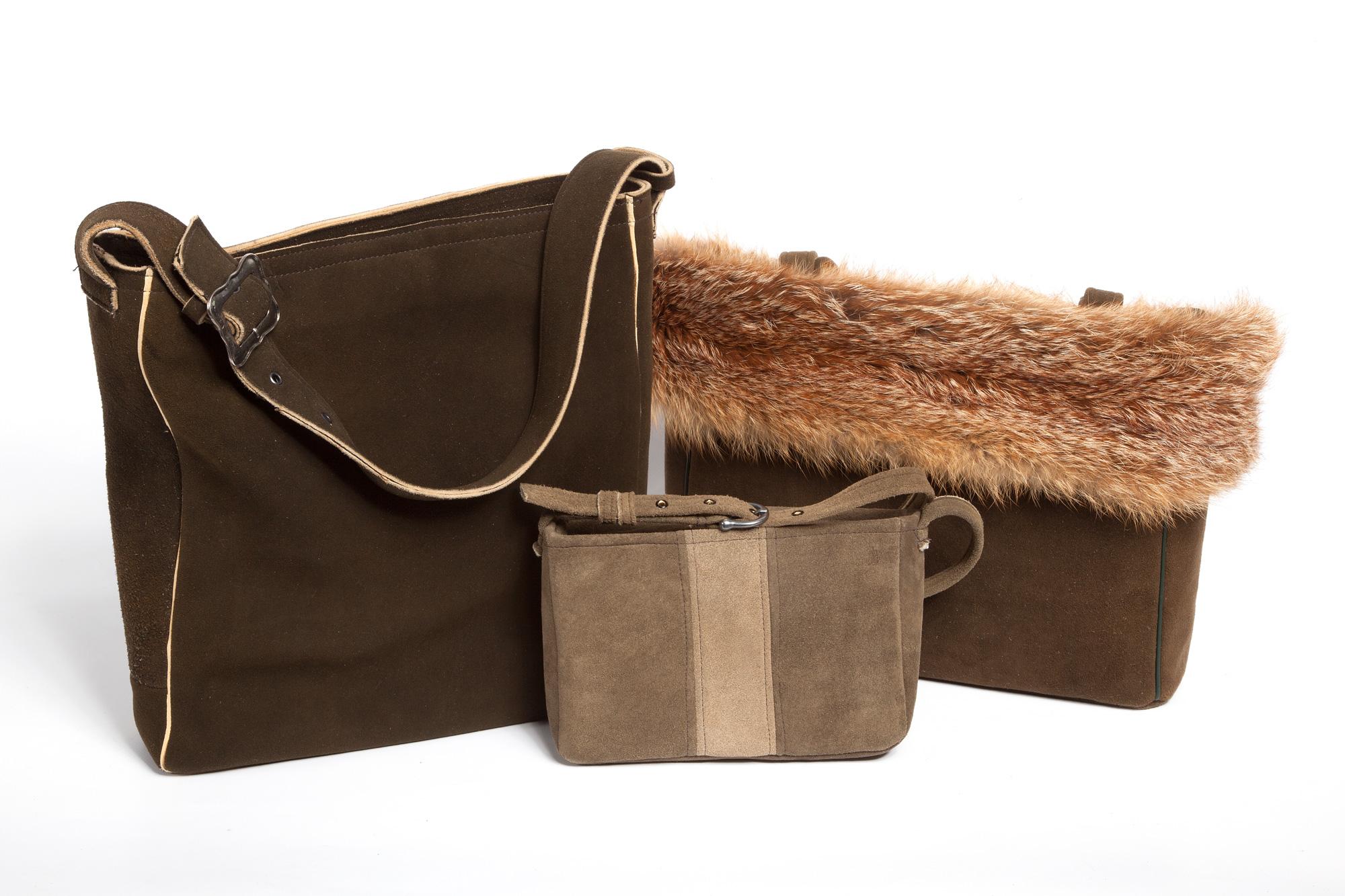 Taschen aus Hirschleder